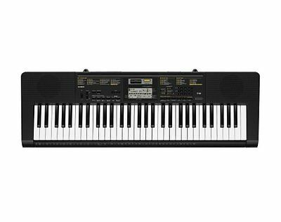 Portable Travel Digital Piano Music Keyboard w Built In Mic 61 Keys 400 Voices