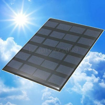 6v 1.5w Solar Panel 250mA solare pannello Photovoltaic Module System Charger