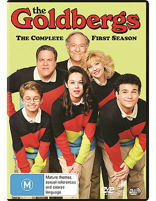 THE GOLDBERGS : SEASON 1 - DVD - UK Compatible - New & sealed