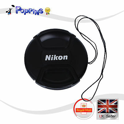 New LC52  Snap-On Lens Cap LC-52  LC52 52  mm For Nikon LC-52  LC52  UK Stock