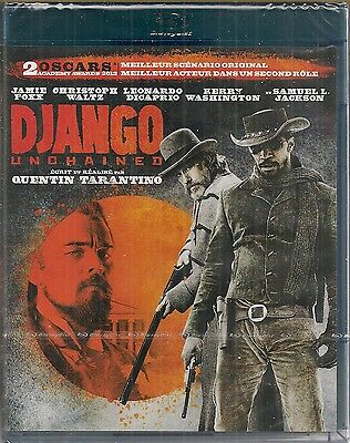 "Blu-ray  ""Django Unchained ""- Quentin Tarantino      NEUF SOUS BLISTER"