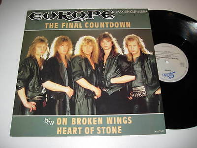 "12"" MaxiSingle/EUROPE/THE FINAL COUNTDOWN/epic 12.7127 /  MINT"