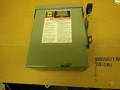 Square d  General duty safety switch D221nrb  New