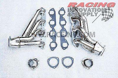 Big Block Chevy Chevrolet Stainless Steel Shorty Headers by Racing Innovation