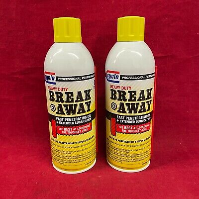 Cyclo Heavy Duty Break Away Rusted Parts Penetrating Oil Lubricant *FREE SHIP*