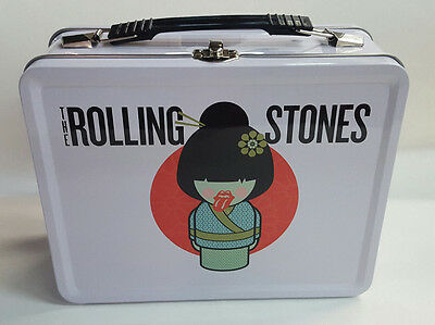 """The Rolling Stones - """"geisha"""" White Lunch Box ~ New"""