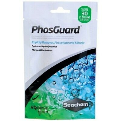 SEACHEM PHOSGARD 100mL IN BAG PHOSPHATE & SILICATE REMOVER FILTRATION MEDIA