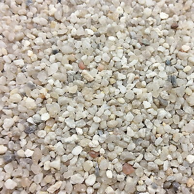 Aquarium QUARTZ GRAVEL 2mm 3mm 4mm Fine Premium Substrate for Planted Fish Tank