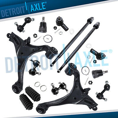 2001 2002 - 2005 Honda Civic Excludes SI Complete Front and Rear Suspension Kit