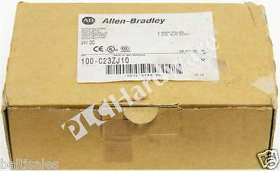 New Allen Bradley 100-C23ZJ10 /C MCS-C Contactor IEC 23A 24V DC Single Pack Qty