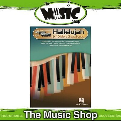 New EZ Play #104 Hallelujah & 40 More Great Songs Piano Music Book -  Easy Play