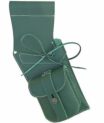 New Mild Green Leather Side Hip Quiver Archery Products AQ-119MG R HAND
