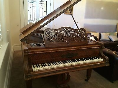 Knake 7' Grand Piano - Rare and Ornate Instrument In Excellent Condition.