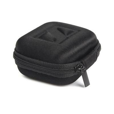 Zip Headphone Earbud Carrying Storage Bag Pouch Hard Case For Earphone SD Card