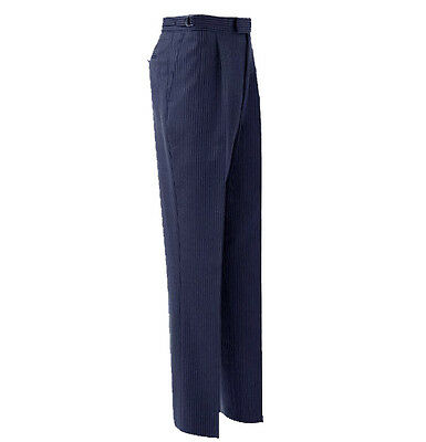 Men's/boys Navy Blue Pinstripe Striped Trousers/ /tails/wedding/ Morning Suit/