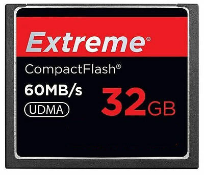 SanDisk Extreme 32GB CompactFlash CF Card 60MB/S 400X SDCFX-032G For 4K HD Video