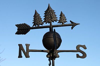 High Quality Weathervanes - Cast Iron - Pine Trees