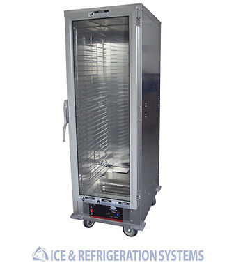 Cozoc 17 Tray Commercial Full Size Proofer Cabinet , Non-Insulated W/adj Rack