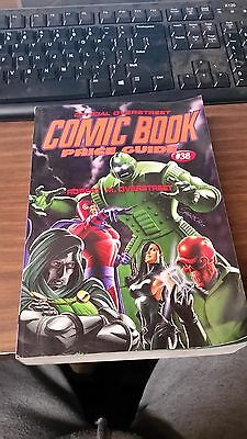 Official Overstreet Comic Book Price Guide #38 Soft Cover