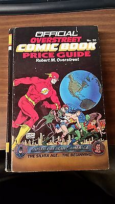 Official Overstreet Comic Book Price Guide #20 Hard Cover