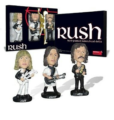 Rush Bobbleheads Geddy Lee Bobble Heads Head Not Fade Away Official Merchandise