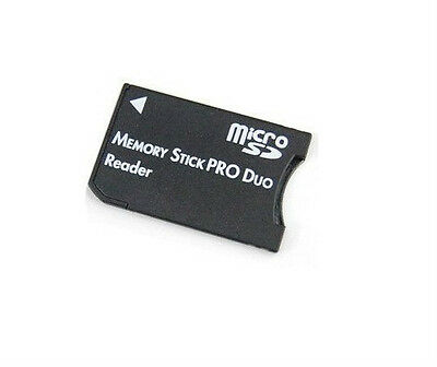 Wholesale Lot - 10 x Memory Stick Pro Duo Adapter Micro SD SDHC Card Reader TF