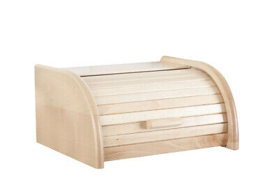 Home, Furniture & Diy Wooden Bread Box Apollo Peewit Roll Top Bin Storage Loaf Kitchen Small Large