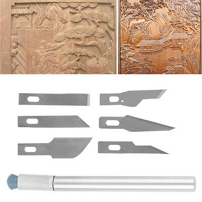 Multi-function Scrapbooking Model Hobby Crafts Carving Knife Blade Tool Set CC