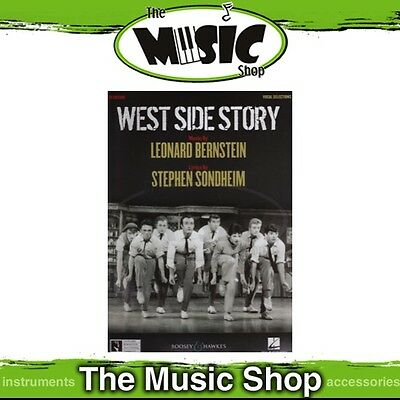New West Side Story the Musical Vocal & Piano Selections Music Book - Rev. Ed