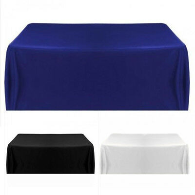 Tablecloth Table Cover Cloth for Banquet Wedding Party Home Decor 145*145cm