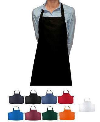1 New Women Cooking Kitchen Restauarant Bib Apron Dress With Pocket Colorful