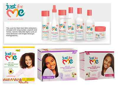 Just for Me Kids Hair Products full Range
