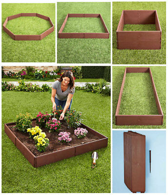 RAISED GARDEN FLOWER BED SET Grow Vegetable Seed Herb Planter Balcony Deck Patio