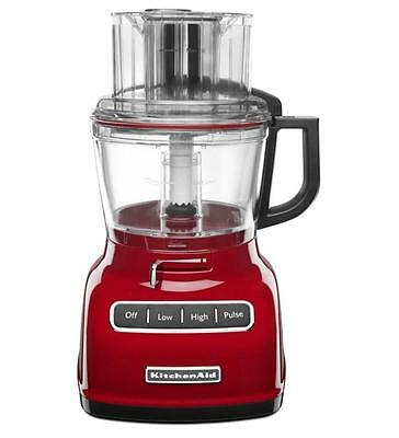 KitchenAid 9-Cup Wide Mouth Food Processor RR-KFP0930 Large Exact Slice 11 Color
