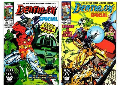 Deathlok Special #1-4 Limited Series (1991) Marvel VF/NM to NM
