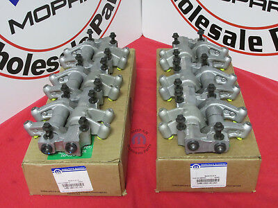 DODGE CHRYSLER 3.5L 4.0L Rocker Arm Shaft Kit Set X2 NEW OEM MOPAR