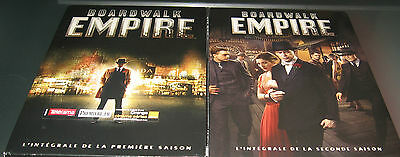 Boardwalk Empire L Integrale Des Saisons 1 & 2 / Lot De 2 Coffrets Dvd / Neuf /