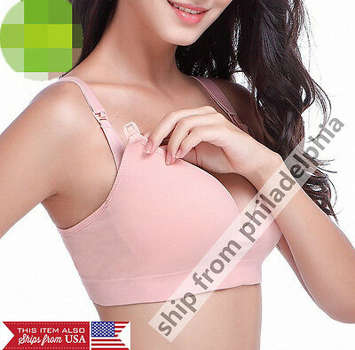 Pregnant Women Bra Underwear Maternity Breastfeeding Nursing cotton Bras Cozy