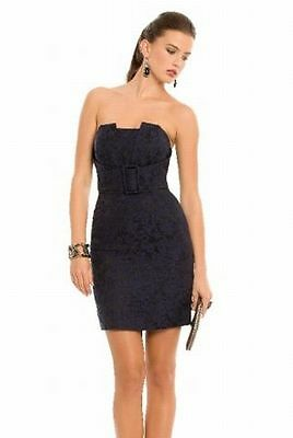 Guess By MARCIANO .SERENA Column Origami Strapless Classy & Sexy Mini Dress 0 XS