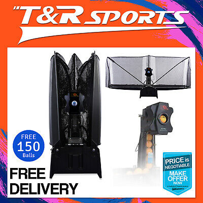 Ipong Pro Indoor Table Tennis Robot / Trainer + Ball Catching Net Free Au Post
