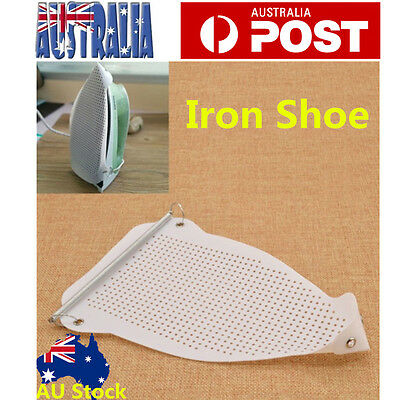 Teflon Iron Cover Shoe Cloth Ironing Board Aid Protect Fabrics Heat Protector
