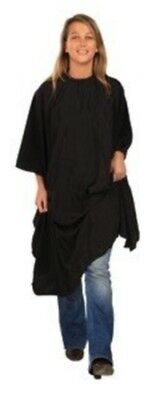 SIBEL Barbers Hairdresers Hairdressing Cutting Cape Gown - Velcro Fastening