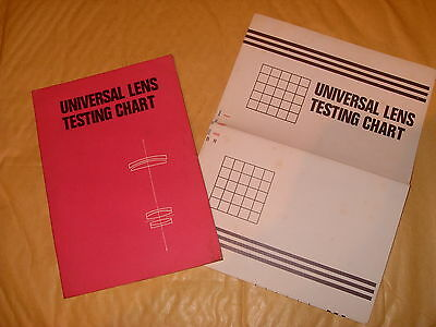 Universal Lens Testing Chart - As Photo