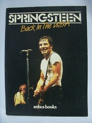 Bruce Springsteen Back In The USA Concert Tour Book