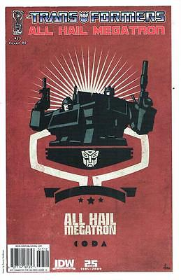 The Transformers - All Hail Megatron - Issue # 13 Retail Incentive - (NM) (1227)