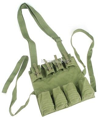 Surplus Chinese Pla Military Stick Grenade Mag Pouch Army Army Green