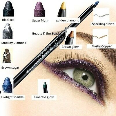 Avon Glimmerstick Diamonds Eyeliner New/Boxed
