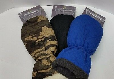 NEW Reward Insulated Water Resistant Ice Scrapper Mitten Glove Choose Color