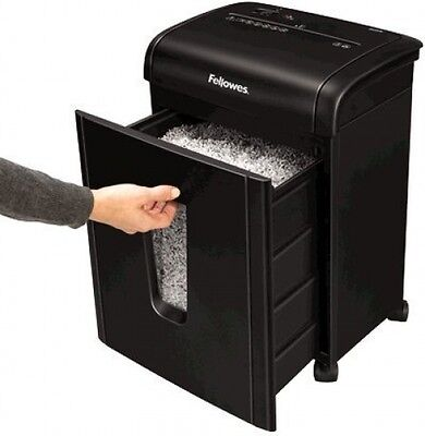 Office Micro Cut Shredder With Safety Lock A4 Paper Cutter Destroyer Safety New