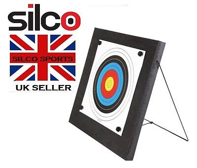 Archery Foam Target Self Healing with Aluminium Stand Target Shooting Anglo Arms